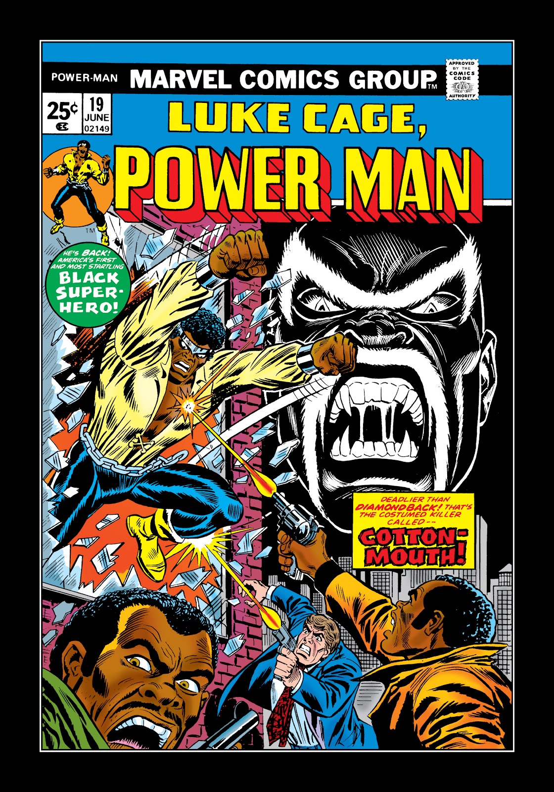 Read online Marvel Masterworks: Luke Cage, Power Man comic -  Issue # TPB 2 (Part 1) - 49