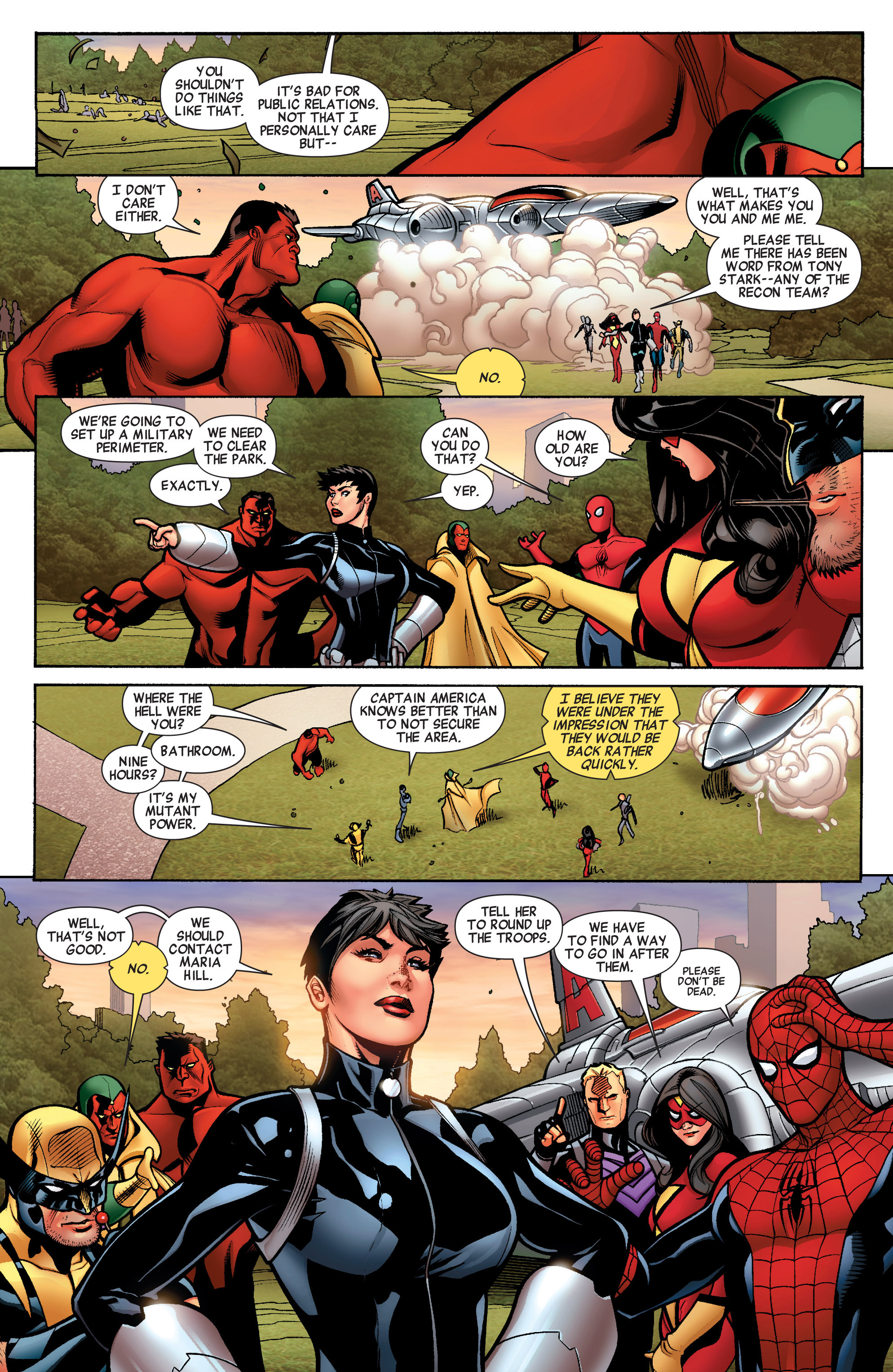 Read online Avengers (2010) comic -  Issue #33 - 13