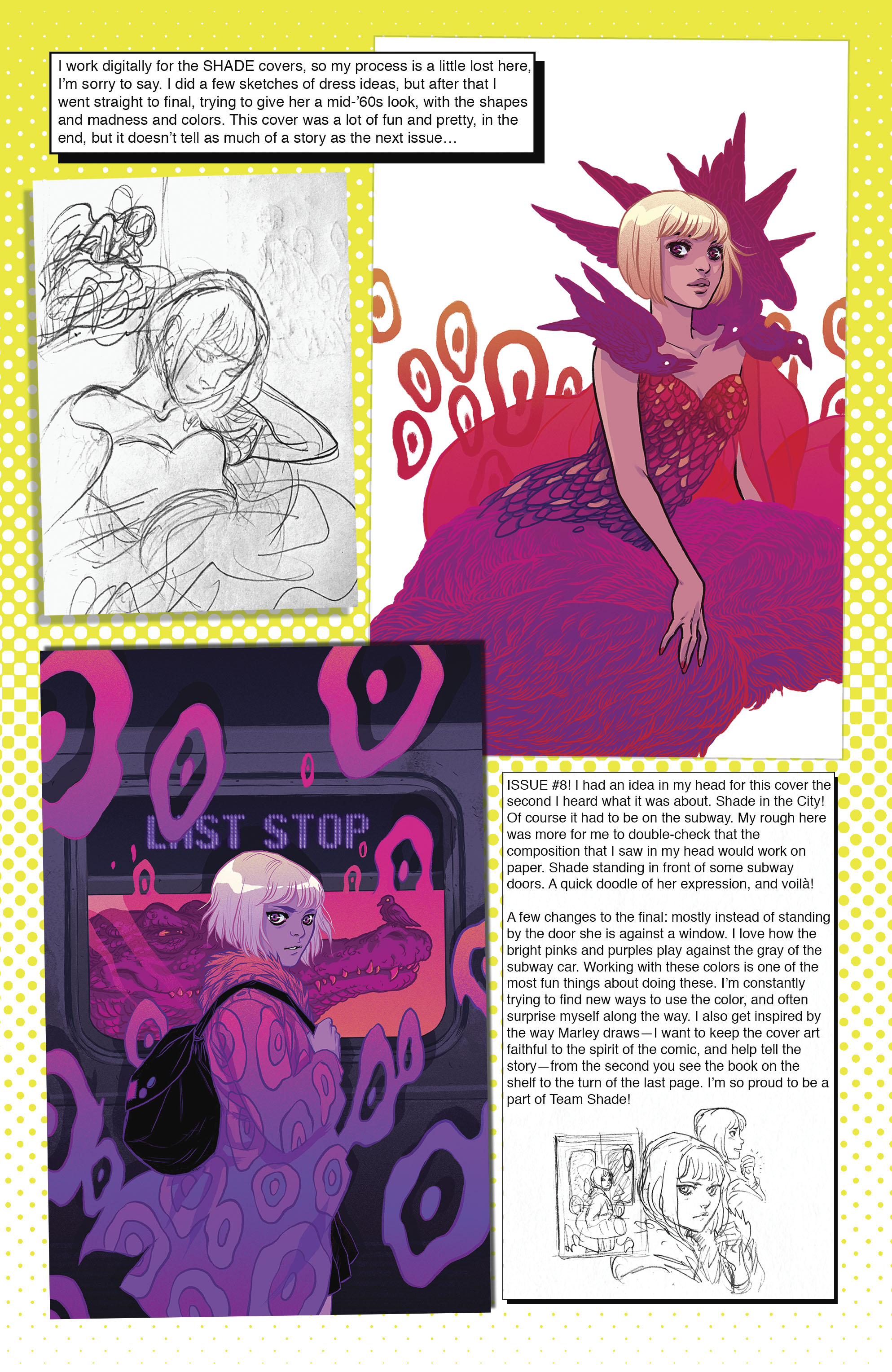 Read online Shade, the Changing Girl comic -  Issue #9 - 30