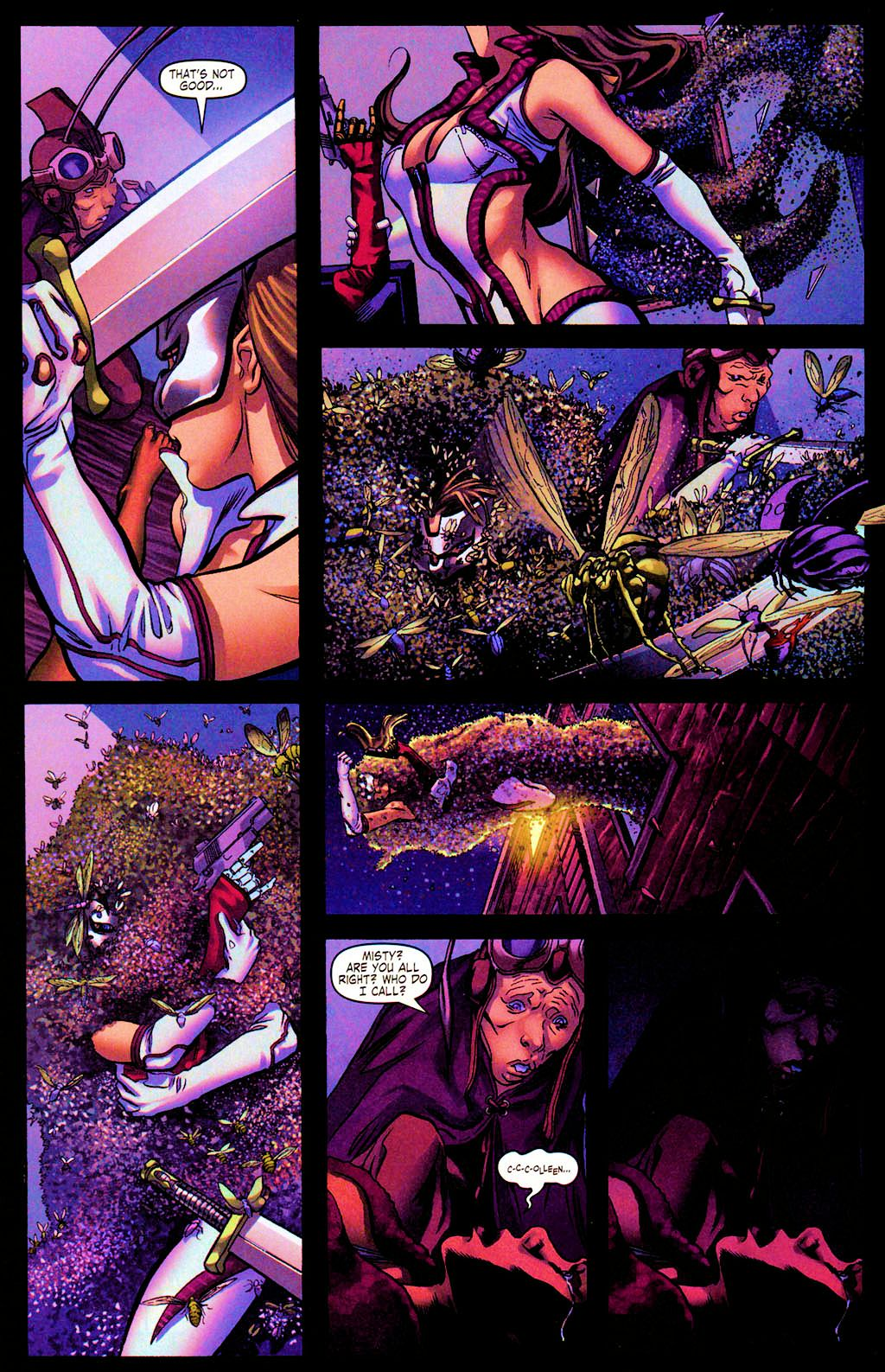 Read online Daughters of the Dragon comic -  Issue #4 - 10