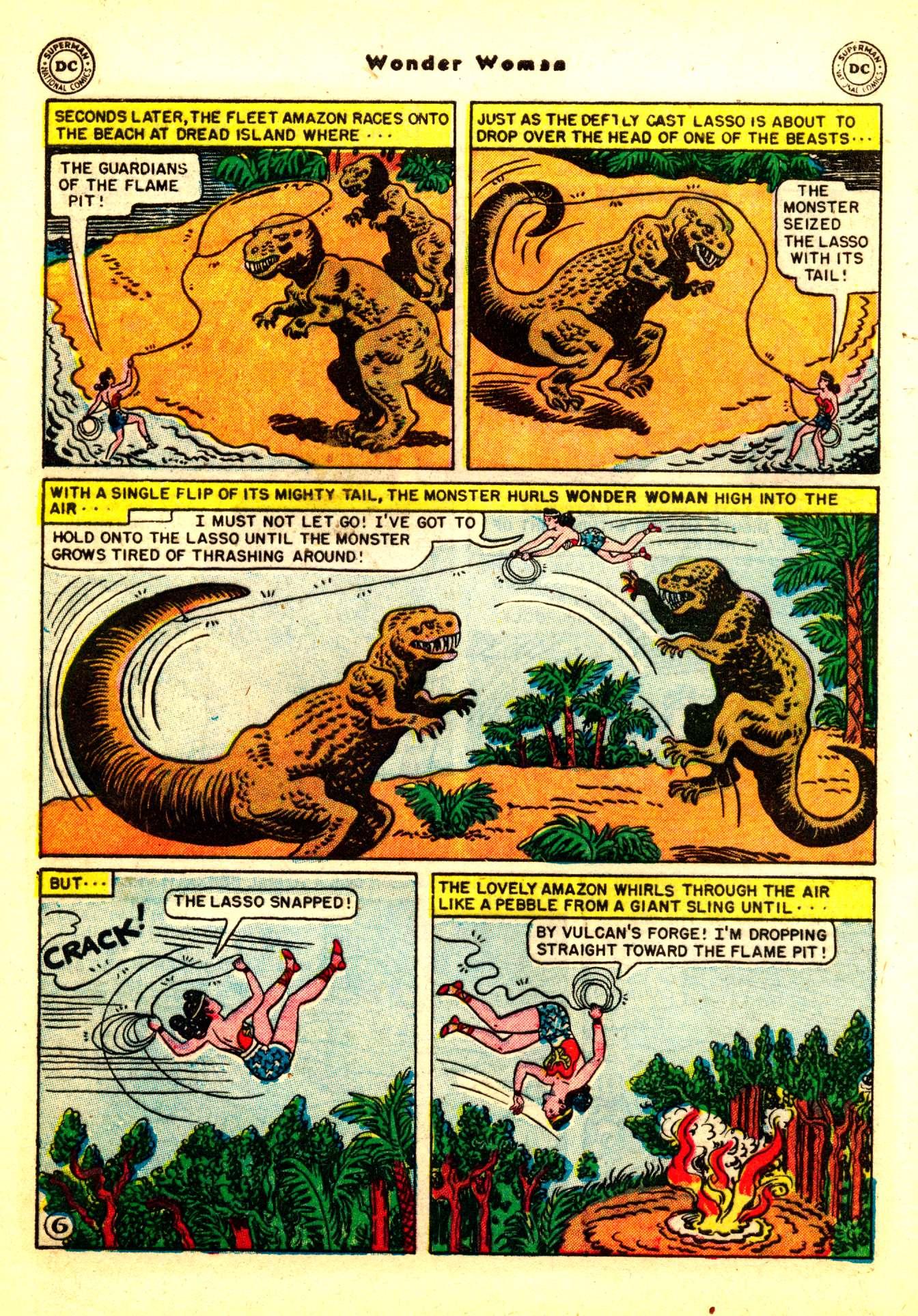 Read online Wonder Woman (1942) comic -  Issue #50 - 36