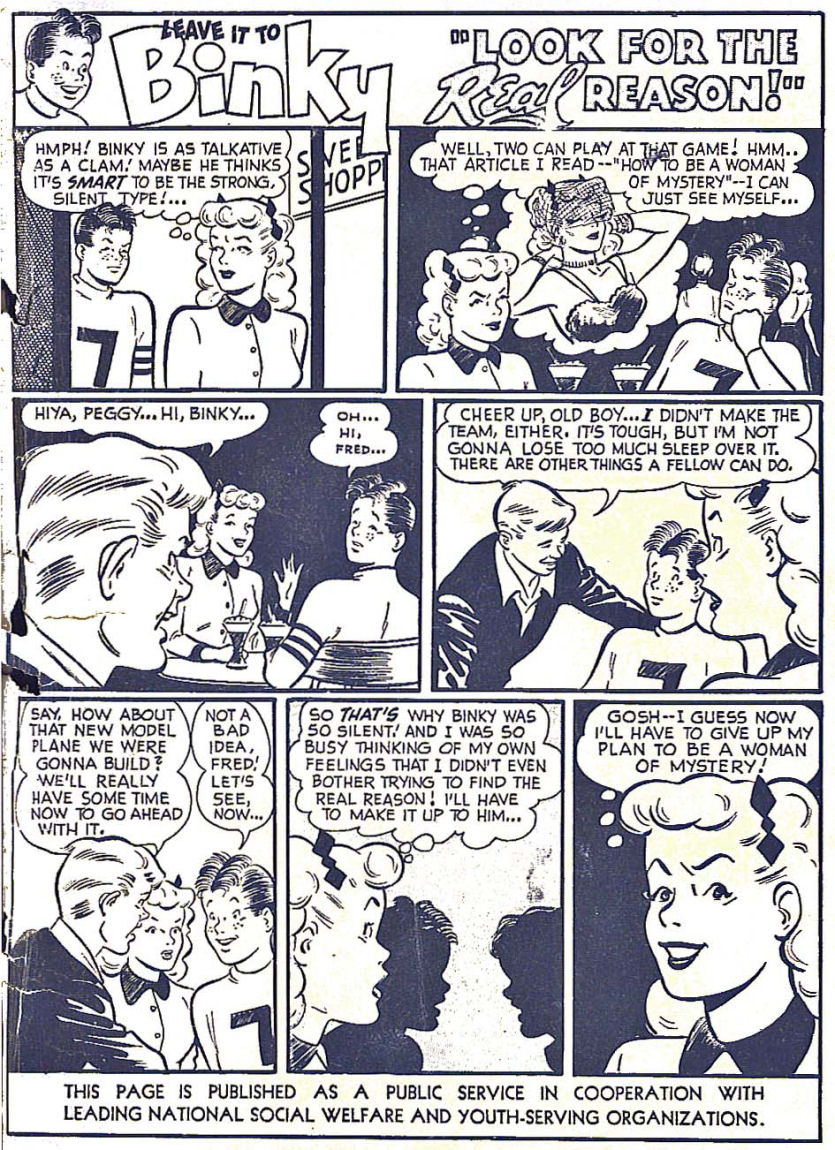 Read online Sensation (Mystery) Comics comic -  Issue #104 - 51