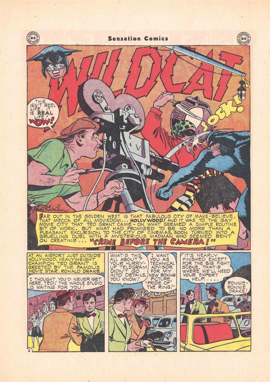 Read online Sensation (Mystery) Comics comic -  Issue #55 - 42