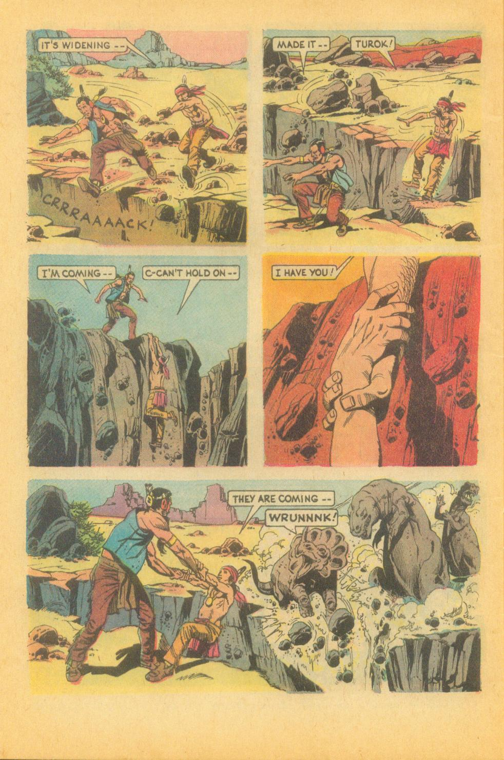 Read online Turok, Son of Stone comic -  Issue #87 - 32