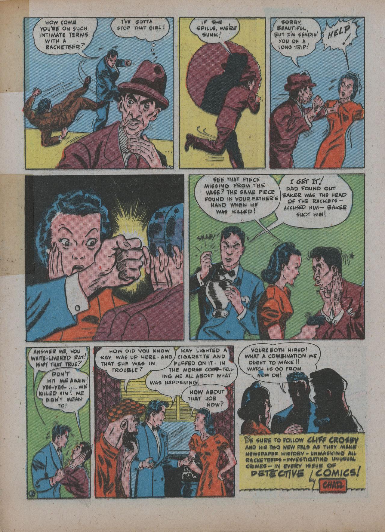 Read online Detective Comics (1937) comic -  Issue #48 - 36