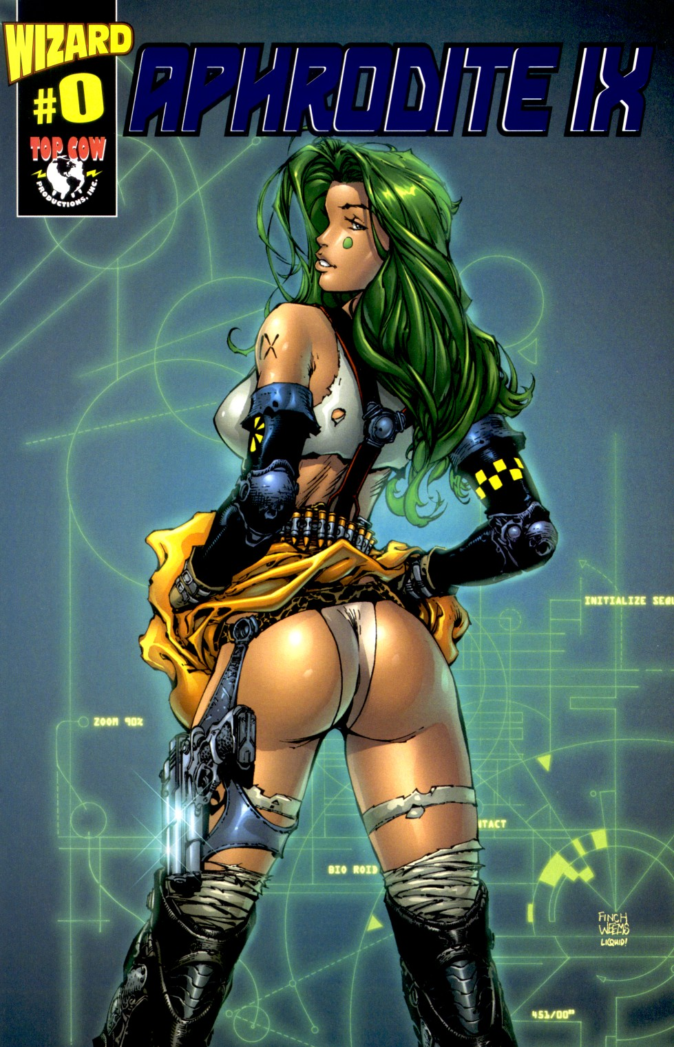 Read online Aphrodite IX (2000) comic -  Issue #0 - 1
