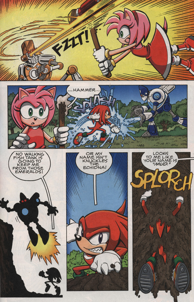 Read online Sonic X comic -  Issue #28 - 27