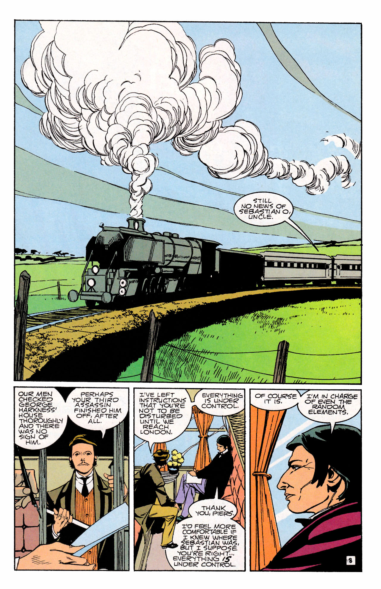 Read online Sebastian O comic -  Issue #3 - 11