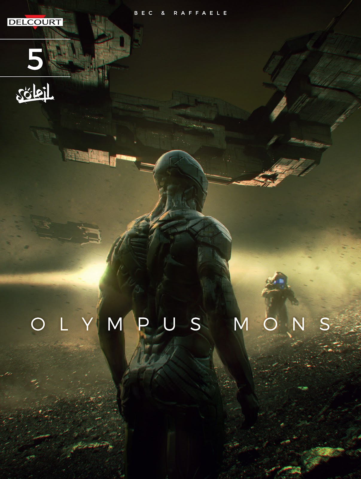 Read online Olympus Mons Vol. 1: Anomaly One comic -  Issue #5 - 1