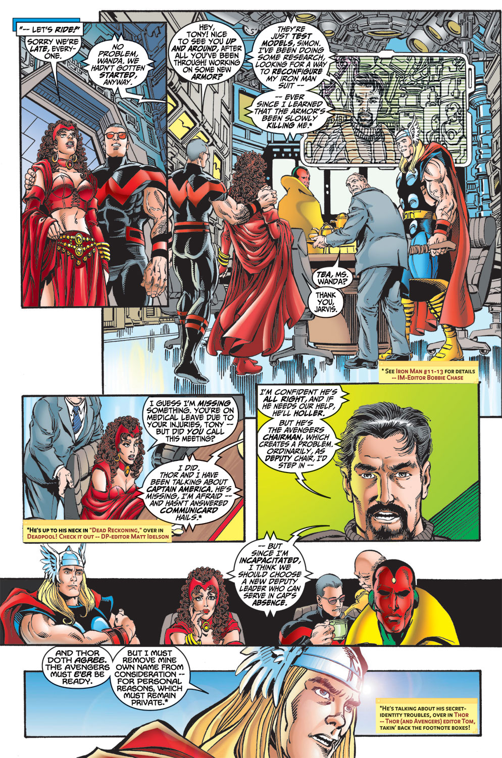 Read online Avengers (1998) comic -  Issue #13 - 8