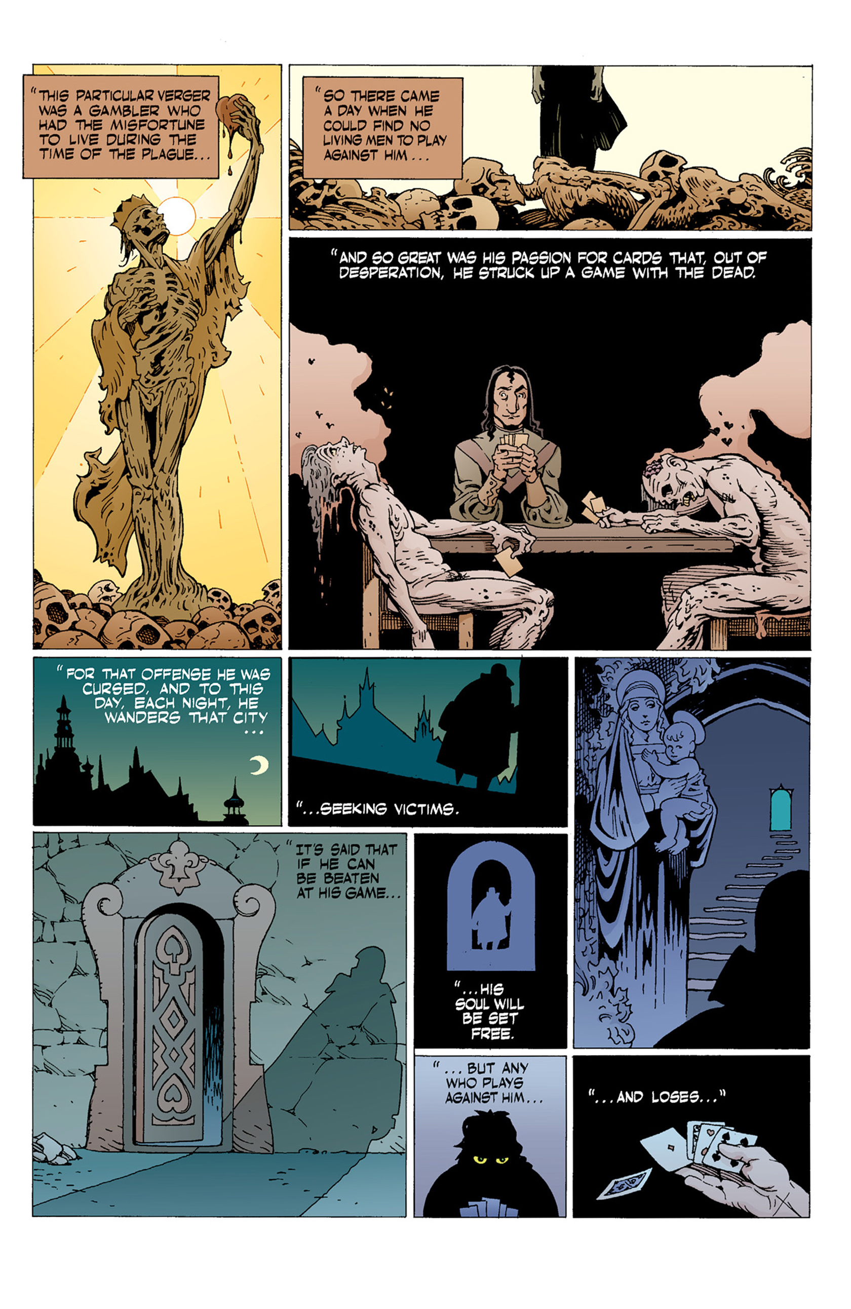 Read online Hellboy: The Troll Witch and Others comic -  Issue # TPB - 39