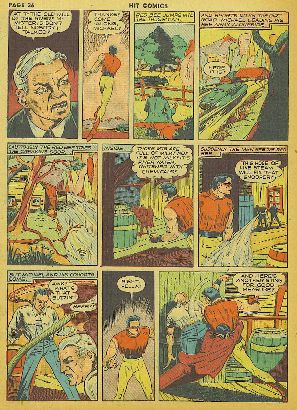 Read online Hit Comics comic -  Issue #13 - 38