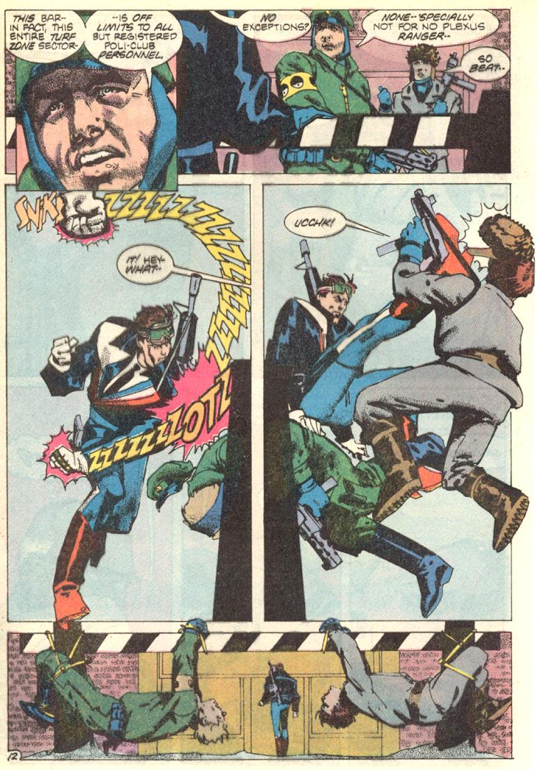 Read online American Flagg! comic -  Issue #9 - 13