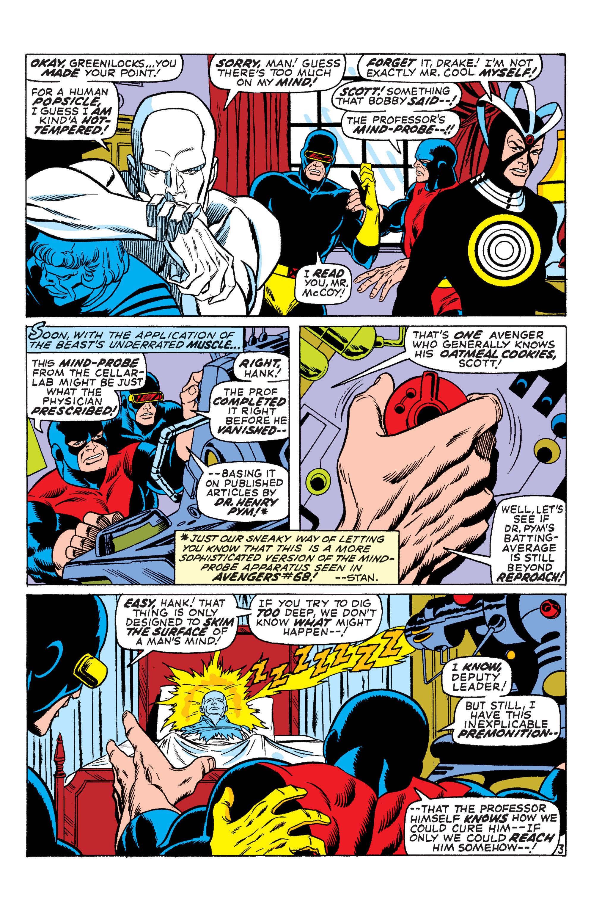 Uncanny X-Men (1963) 66 Page 3