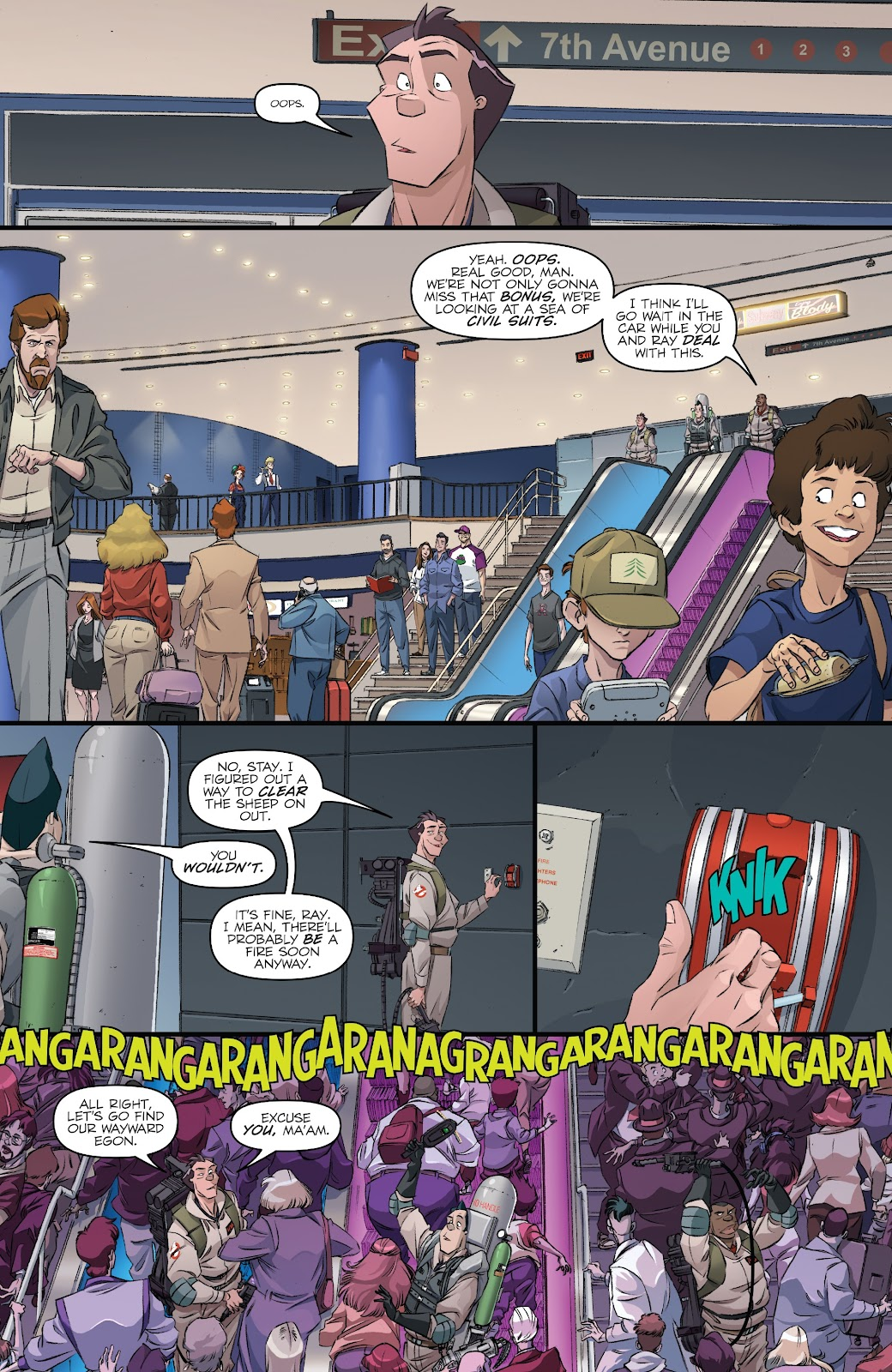 Read online Ghostbusters 35th Anniversary: Ghostbusters comic -  Issue # Full - 13
