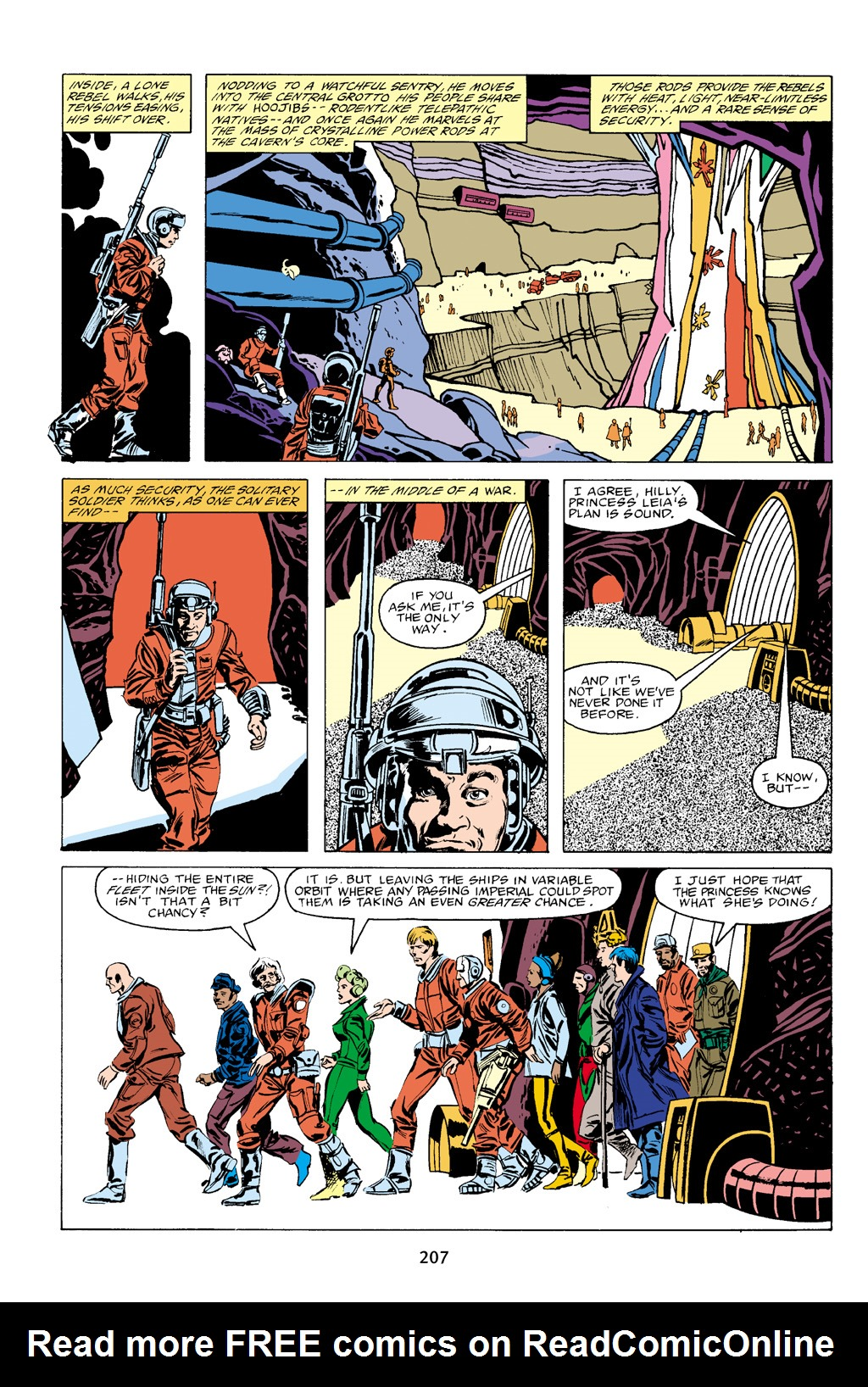 Read online Star Wars Omnibus comic -  Issue # Vol. 16 - 204