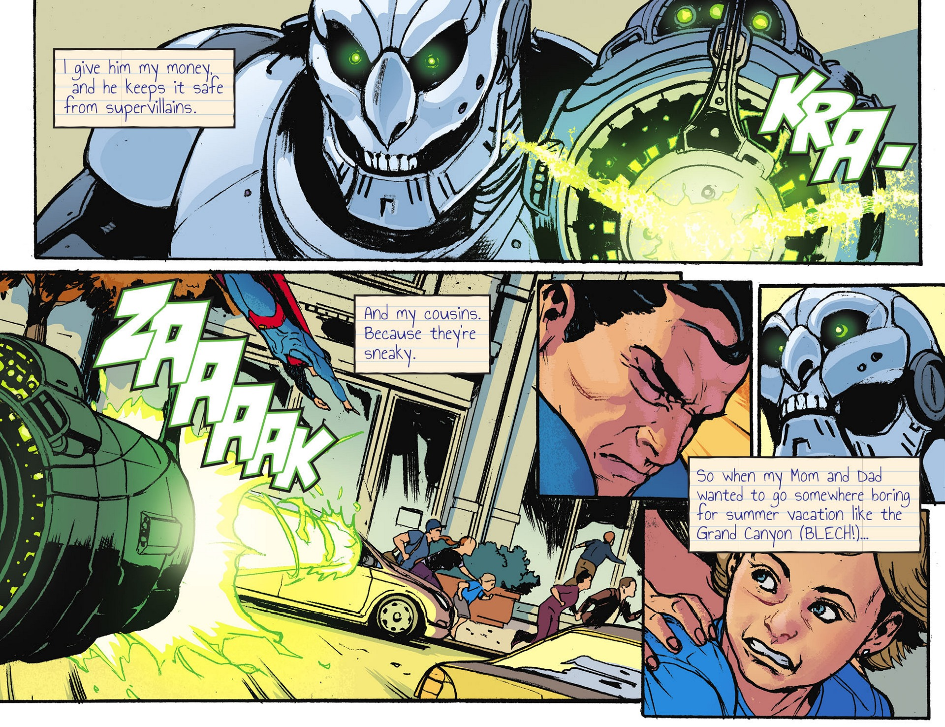 Read online Adventures of Superman [I] comic -  Issue #28 - 6