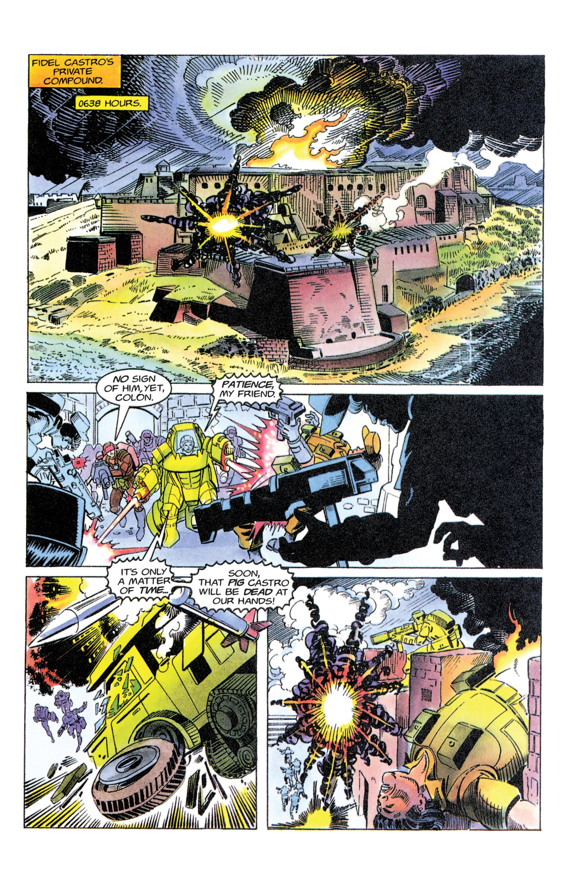 Read online Armorines comic -  Issue #11 - 11