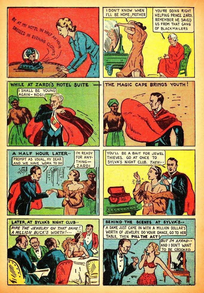 Read online Amazing Man Comics comic -  Issue #12 - 28
