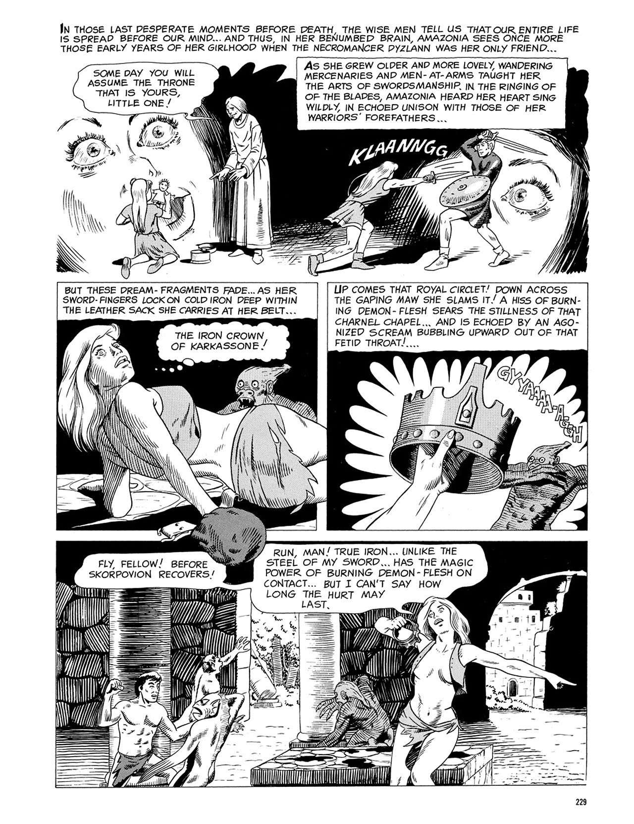 Read online Eerie Archives comic -  Issue # TPB 5 - 230