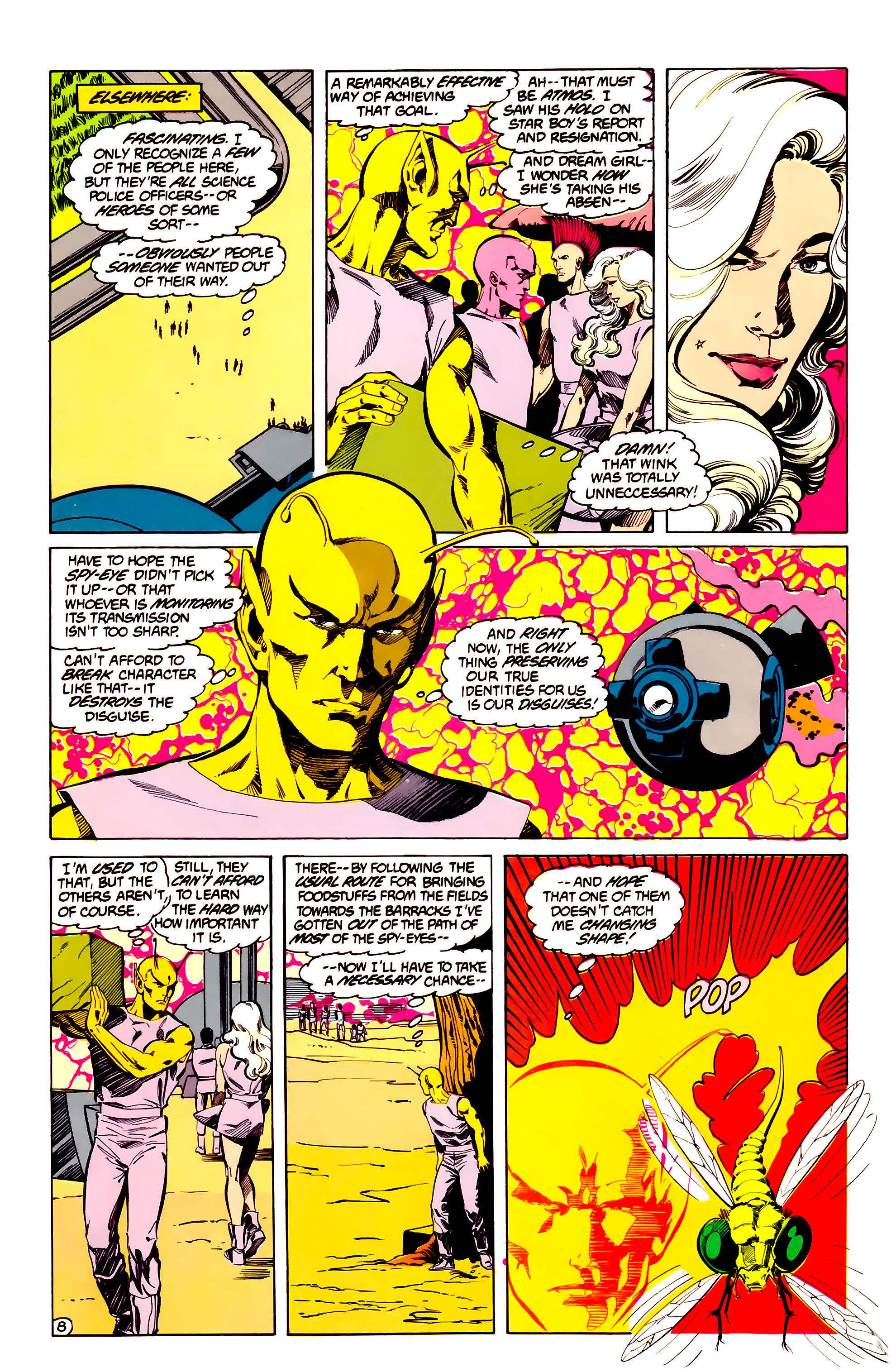 Legion of Super-Heroes (1984) 33 Page 8