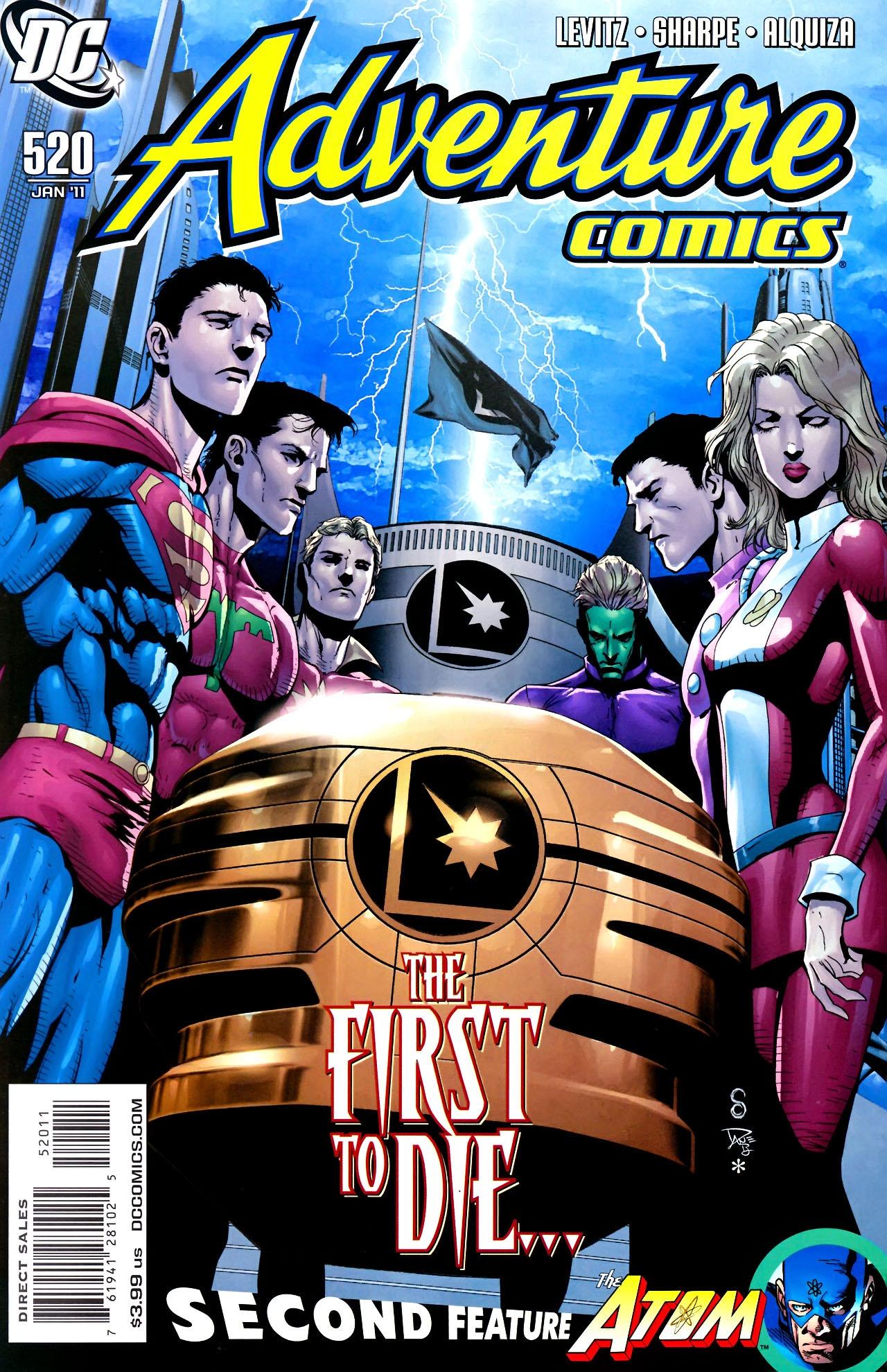 Read online Adventure Comics (1938) comic -  Issue #520 - 1