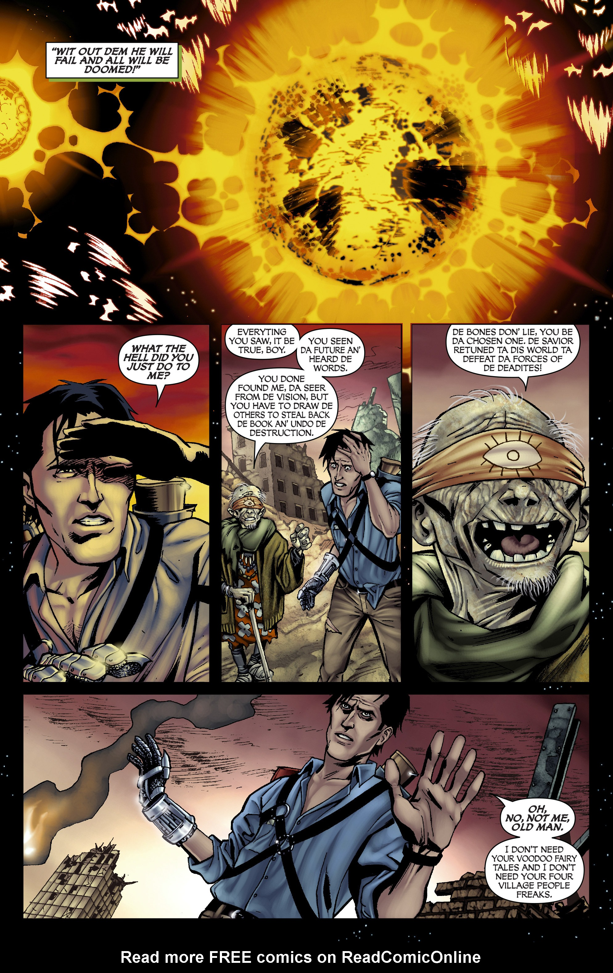 Read online Army of Darkness: From the Ashes comic -  Issue #Army of Darkness: From the Ashes TPB - 26