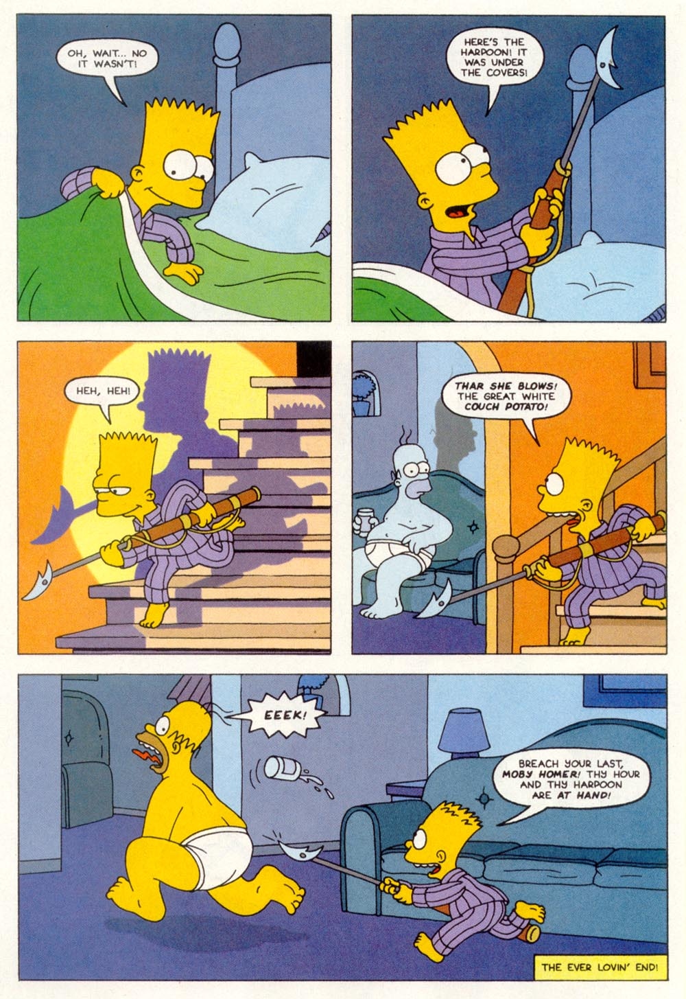 Read online Treehouse of Horror comic -  Issue #1 - 32