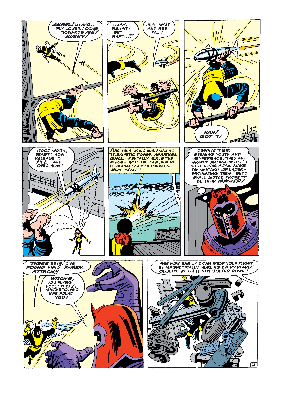 Uncanny X-Men (1963) -1 Page 21