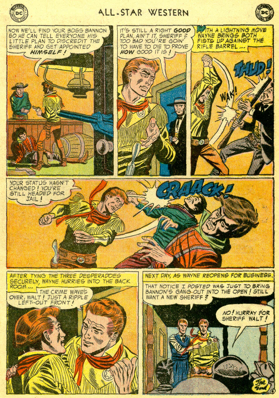 Read online All-Star Western (1951) comic -  Issue #78 - 8