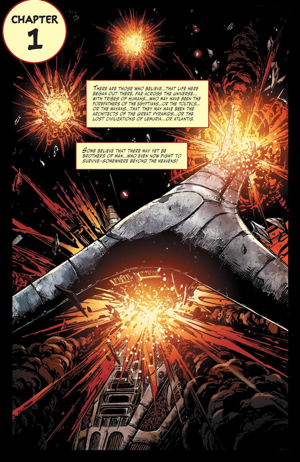 Battlestar Galactica BSG vs. BSG issue 1 - Page 4