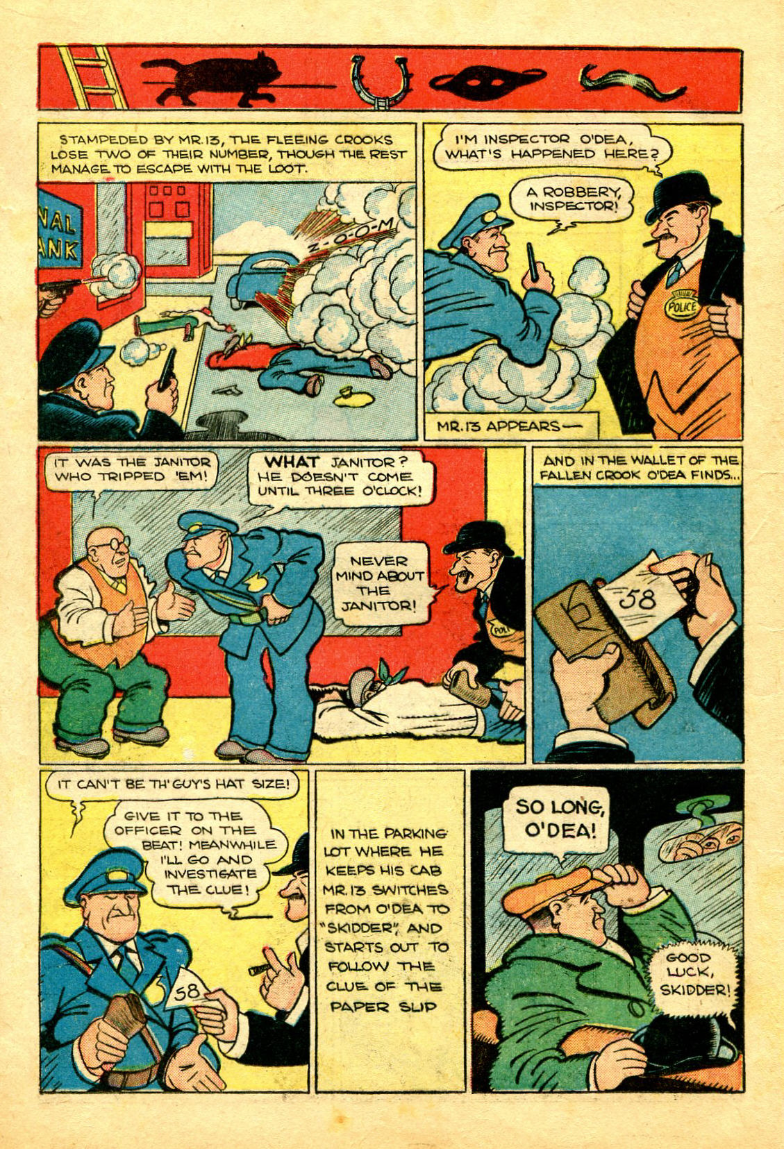Read online Shadow Comics comic -  Issue #43 - 20