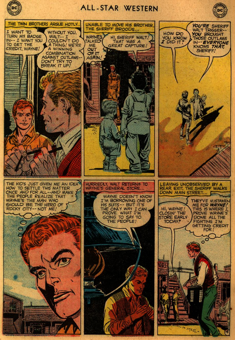 Read online All-Star Western (1951) comic -  Issue #102 - 6