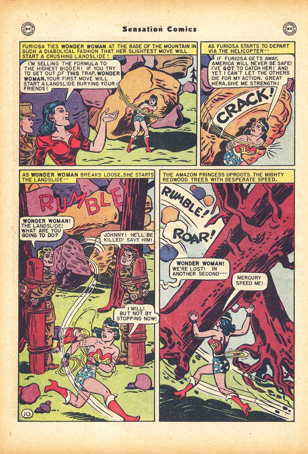 Read online Sensation (Mystery) Comics comic -  Issue #78 - 12