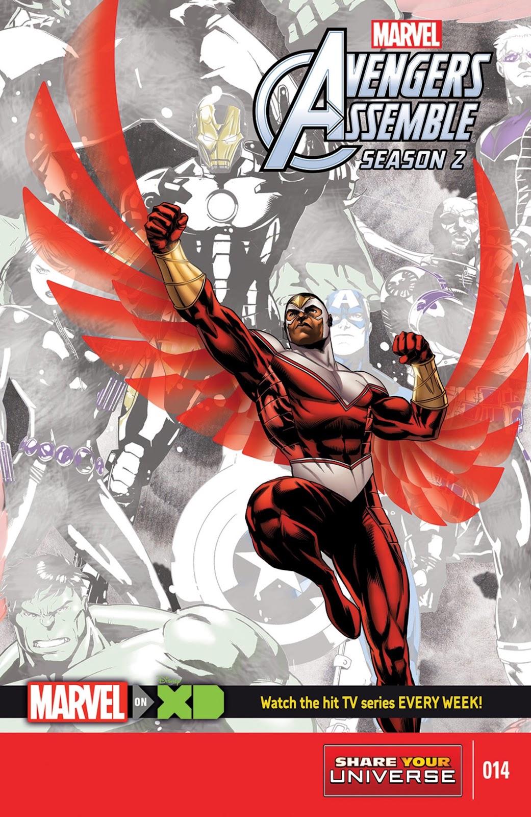 Read online Marvel Universe Avengers Assemble Season 2 comic -  Issue #14 - 1