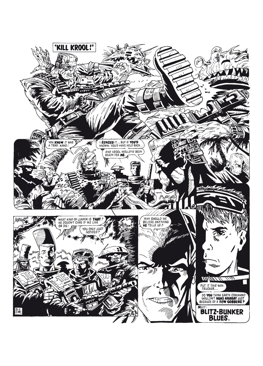 Read online The Complete Bad Company comic -  Issue # TPB - 38
