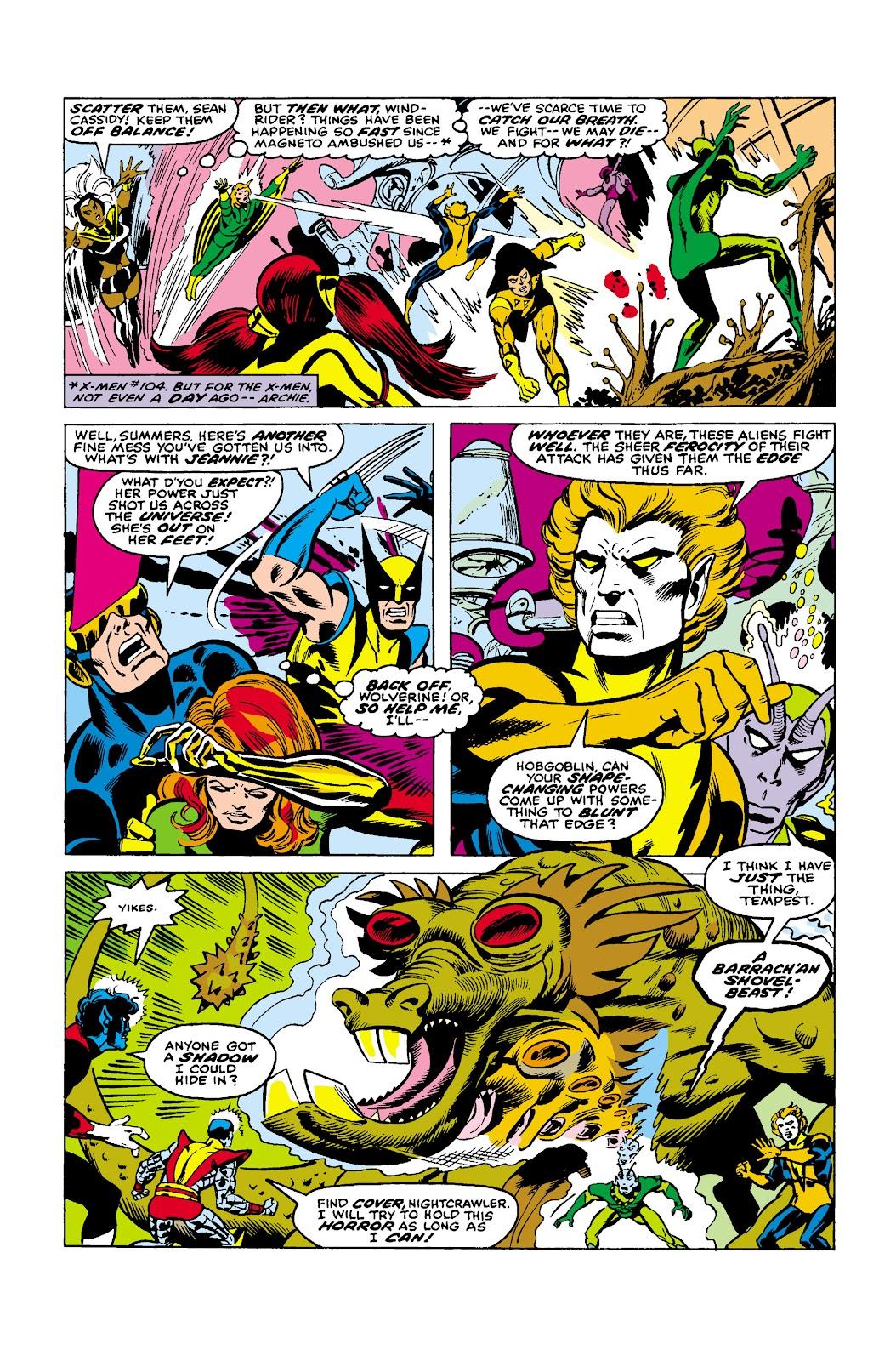 Uncanny X-Men (1963) issue 107 - Page 5