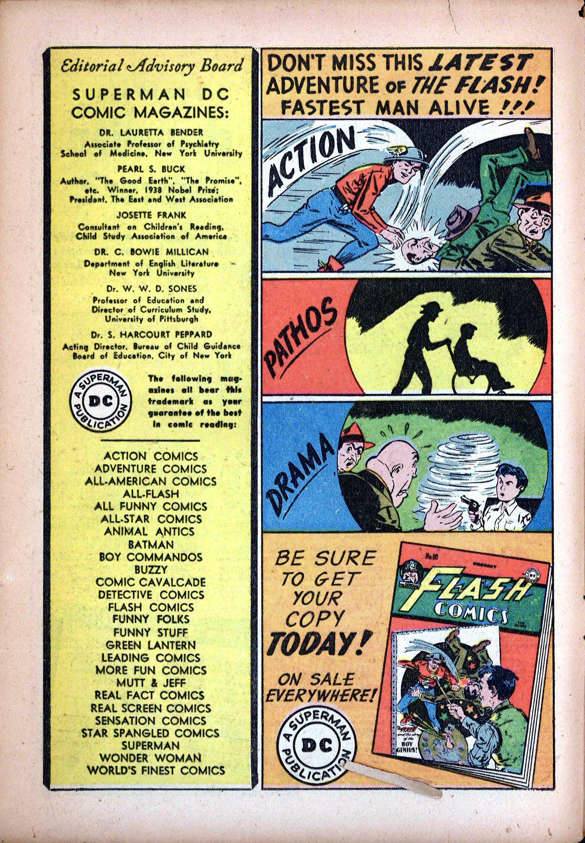 Read online Sensation (Mystery) Comics comic -  Issue #62 - 16