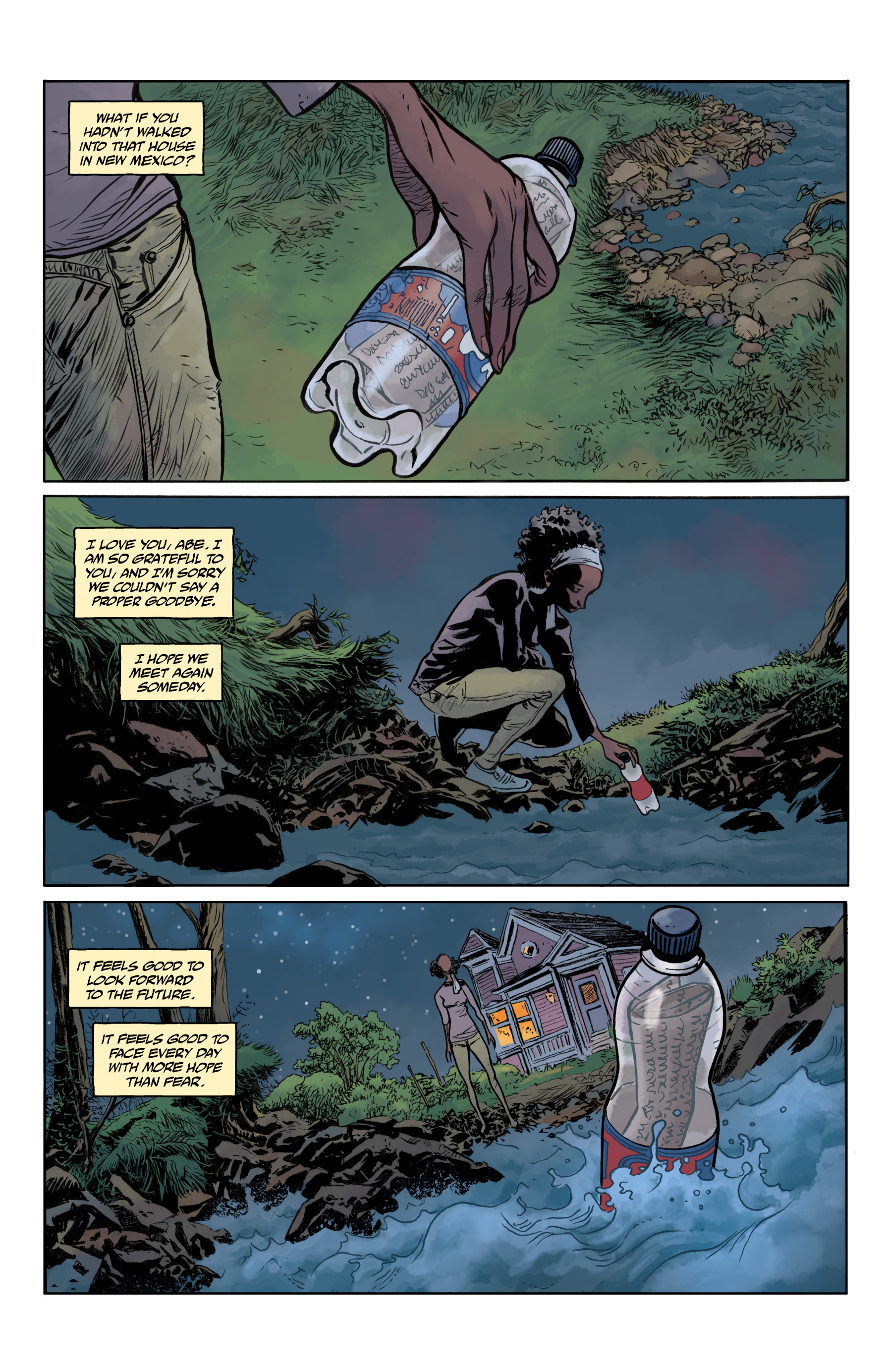 Read online Abe Sapien comic -  Issue #35 - 5