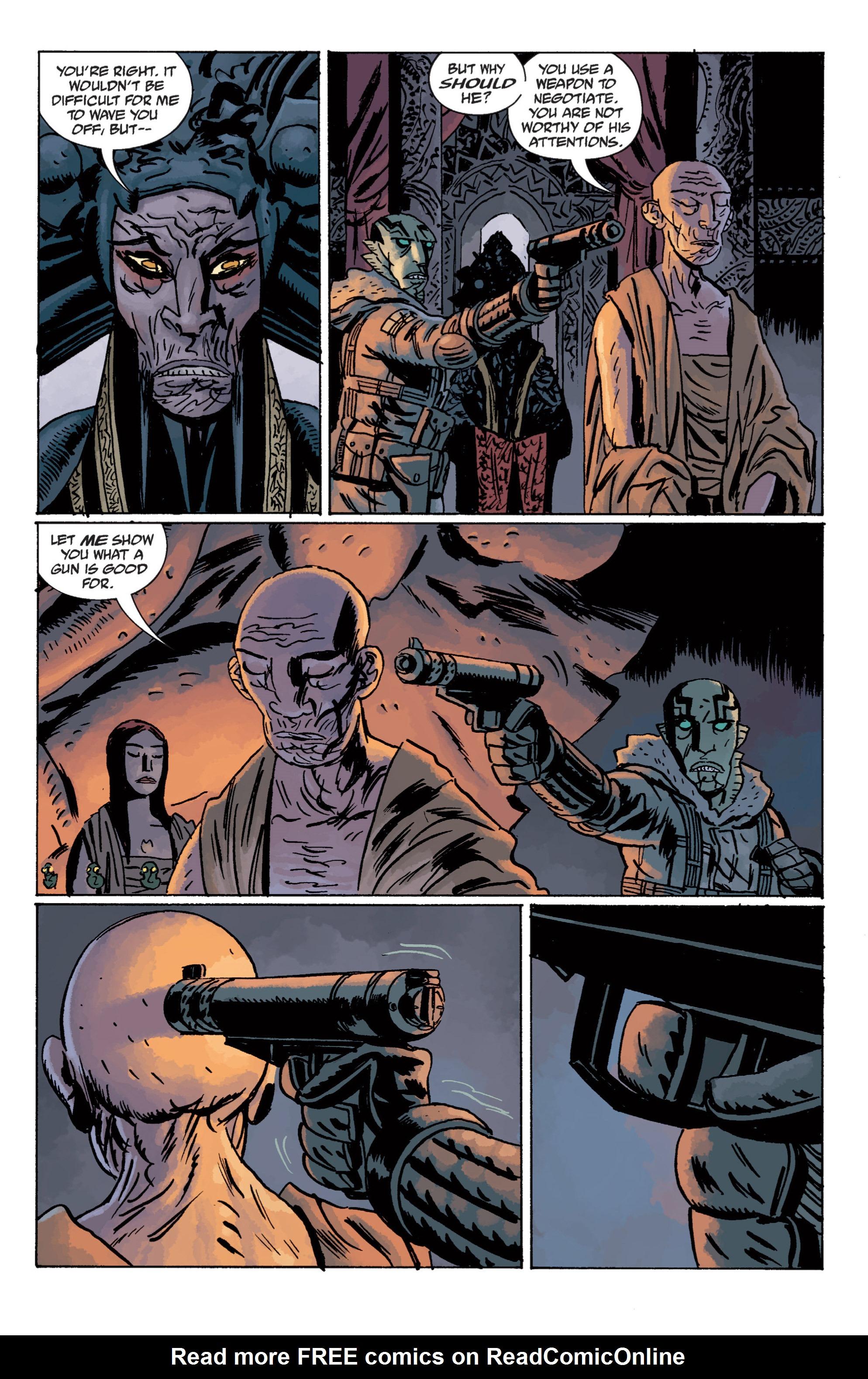 Read online B.P.R.D. (2003) comic -  Issue # TPB 11 - 110