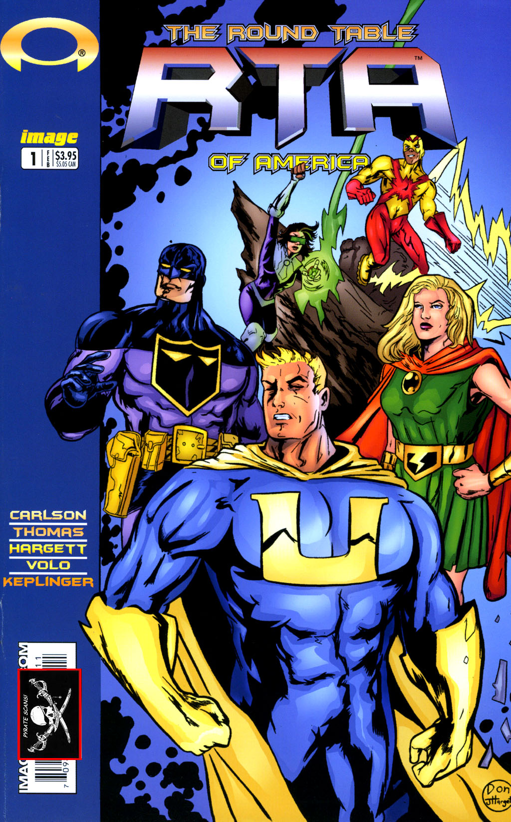 Read online Big Bang: Round Table of America comic -  Issue # Full - 1