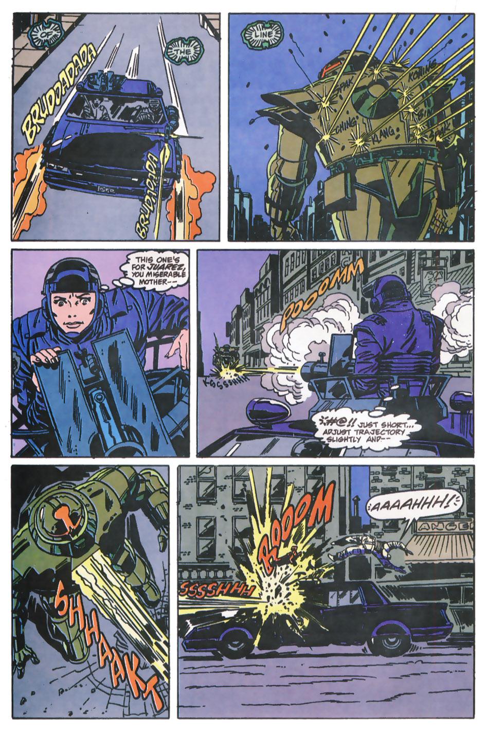 Read online Robocop (1990) comic -  Issue #11 - 14