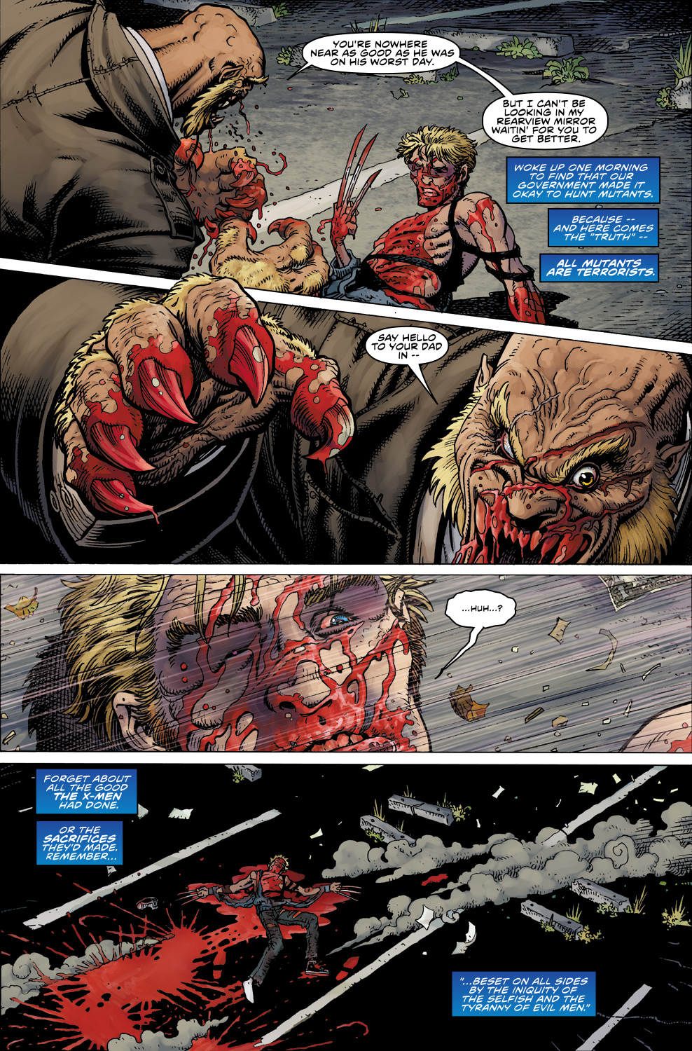 Read online Ultimate X comic -  Issue #5 - 6