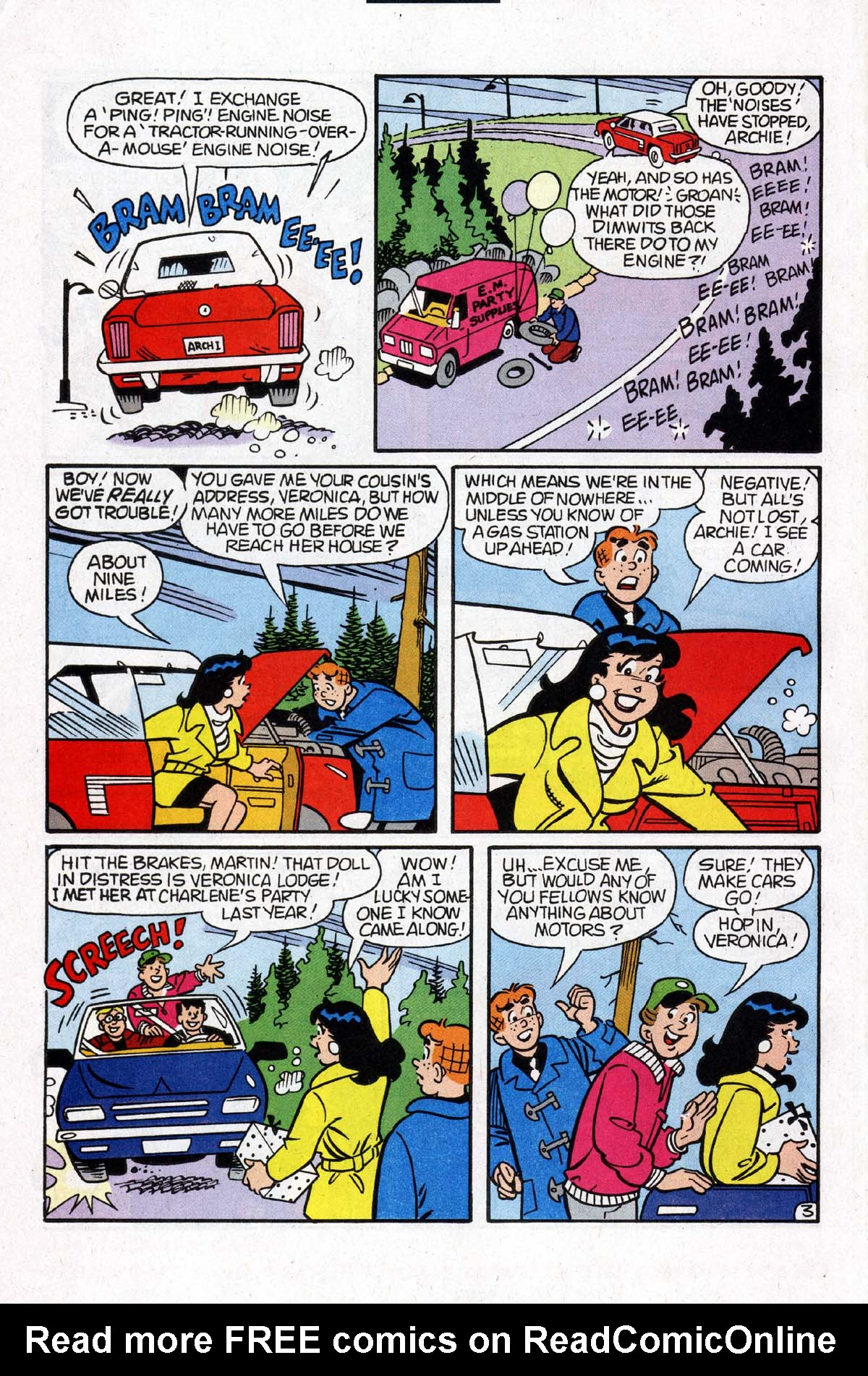 Read online Archie (1960) comic -  Issue #531 - 17