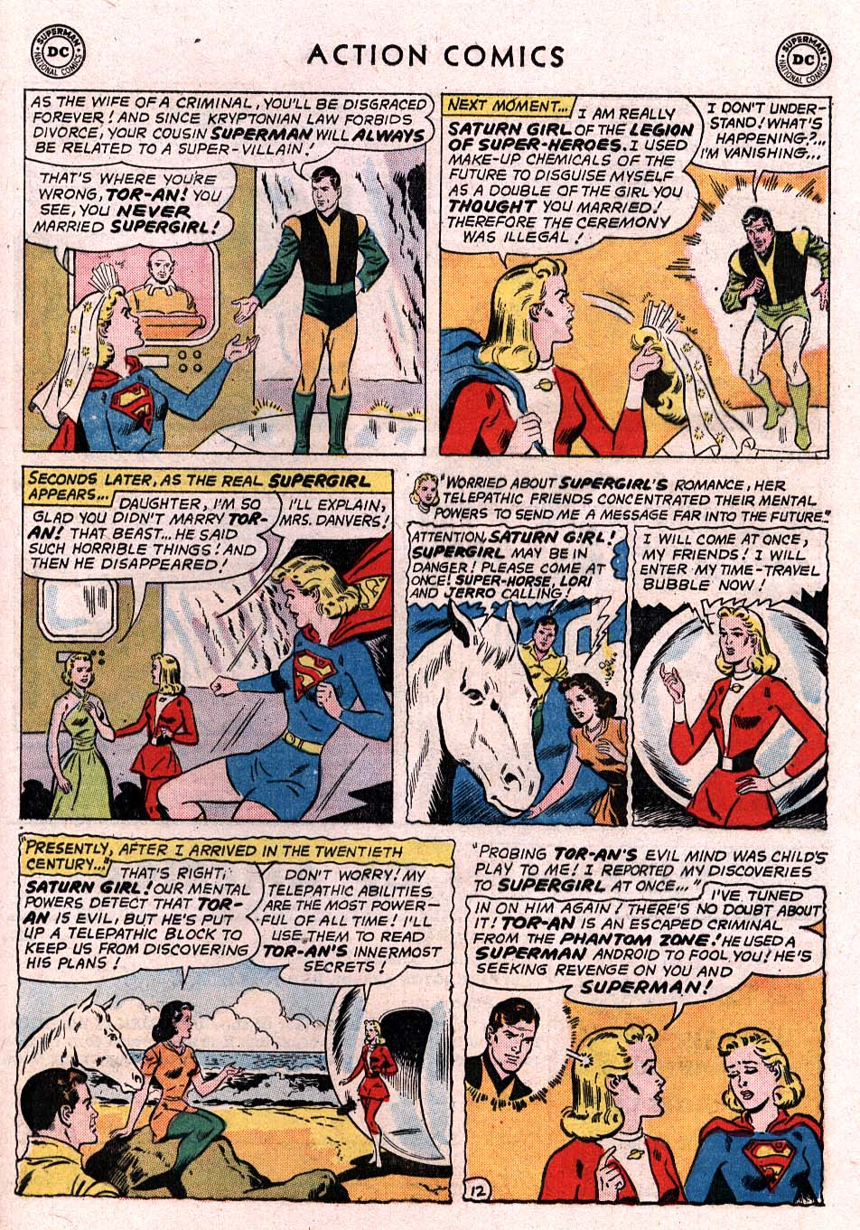 Read online Action Comics (1938) comic -  Issue #307 - 27