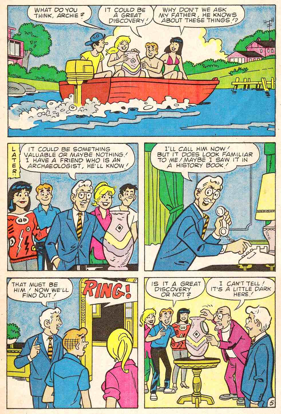 Read online Archie's Girls Betty and Veronica comic -  Issue #344 - 7