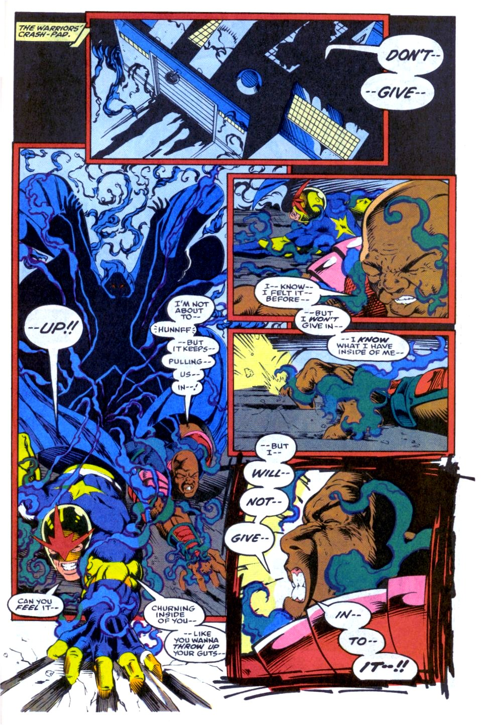 The New Warriors Issue #33 #37 - English 22