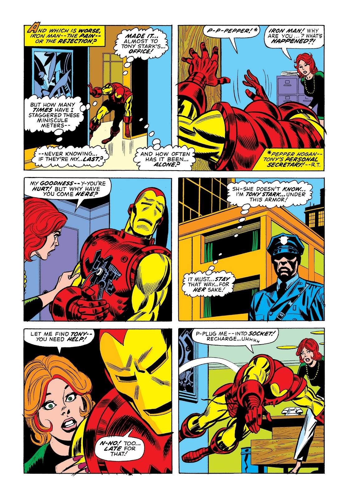 Read online Marvel Masterworks: The Invincible Iron Man comic -  Issue # TPB 9 (Part 1) - 94