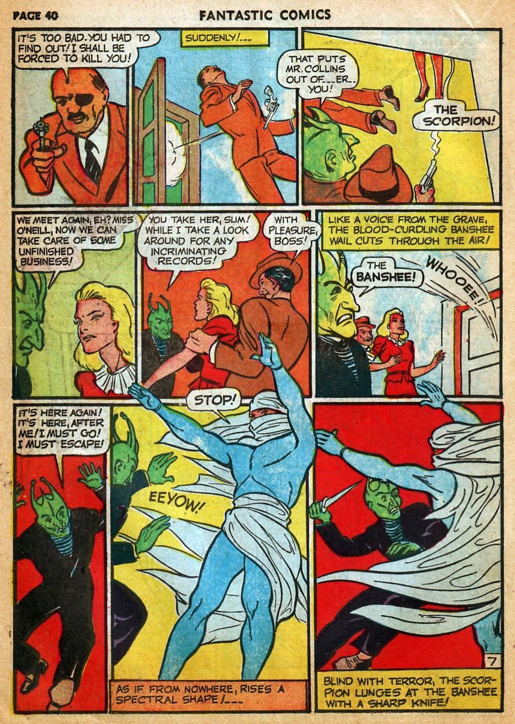 Read online Fantastic Comics comic -  Issue #22 - 41