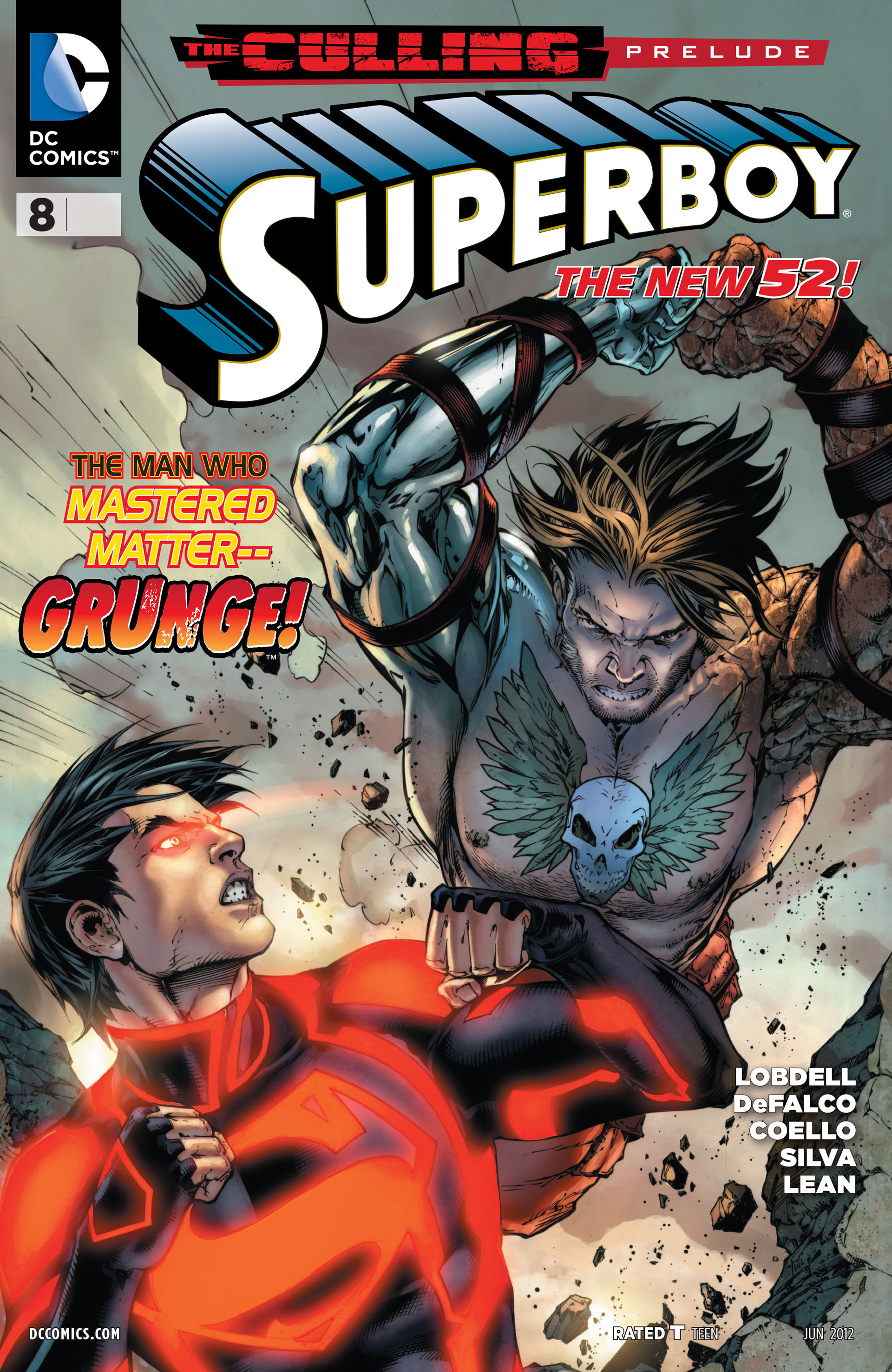 Superboy [II] issue 8 - Page 1